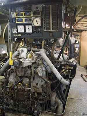 S130 Donor Boat - Engine room inspection