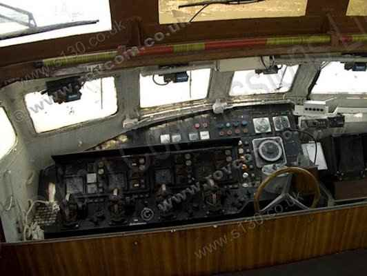Donor Boat - Wheelhouse Interior