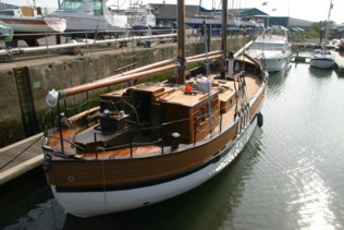 Antares - Launched after a major reffit including new traditional laid deck